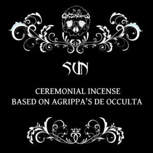 nexus arcanum, esoteric shop, shop esoterico, esoterismo, occultismo, hoodoo, voodoo, magia, occult products, prodotti esoterici, polveri hoodoo, prodotti su misura, prodotti esoterici su misura, incensi planetari, agrippa, de occulta philosophia, bagni rituali, sali da bagno, mistery box, witchy casket, candele vestite, candele in cera, candelotti in cera naturale, erbe, erboristeria magica, resine, incenso, incenso magico, sun incense, incenso solare, Agrippa, incenso cerimoniale, sole