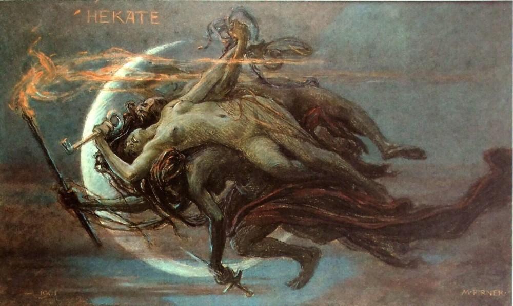 hekate, ecate, streghe della tessaglia, necromanzia, crocicchio, Apollo, stregoneria, strophalos